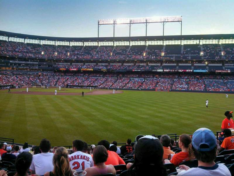 Seating view for Oriole Park at Camden Yards Section 96 Row 15 Seat 13