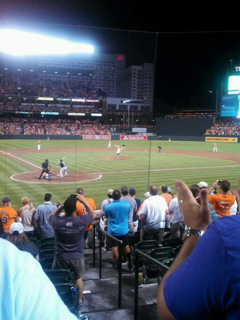 Seating view for Oriole Park at Camden Yards Section 32 Row 15 Seat 2