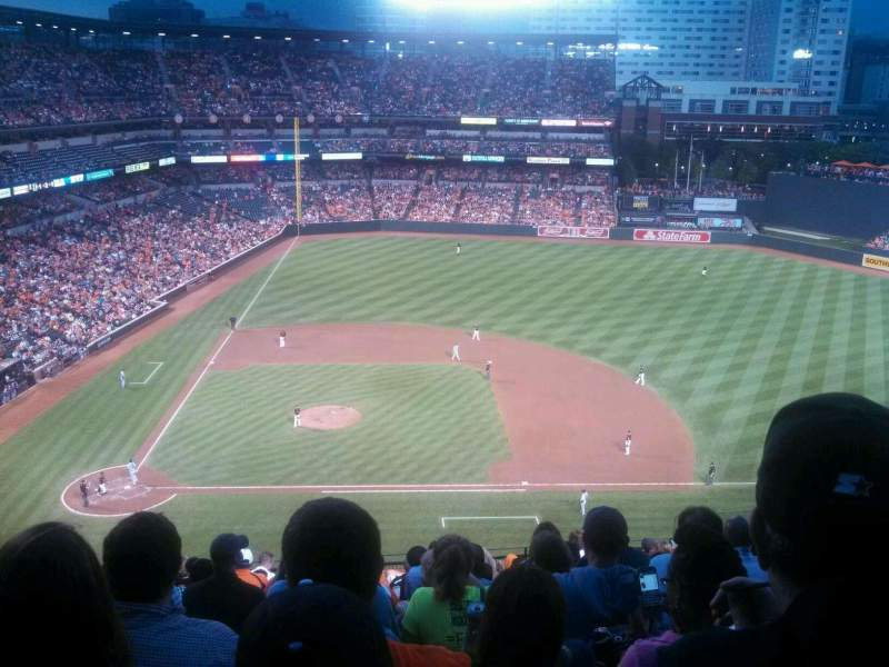 Seating view for Oriole Park at Camden Yards Section 324 Row 13 Seat 6