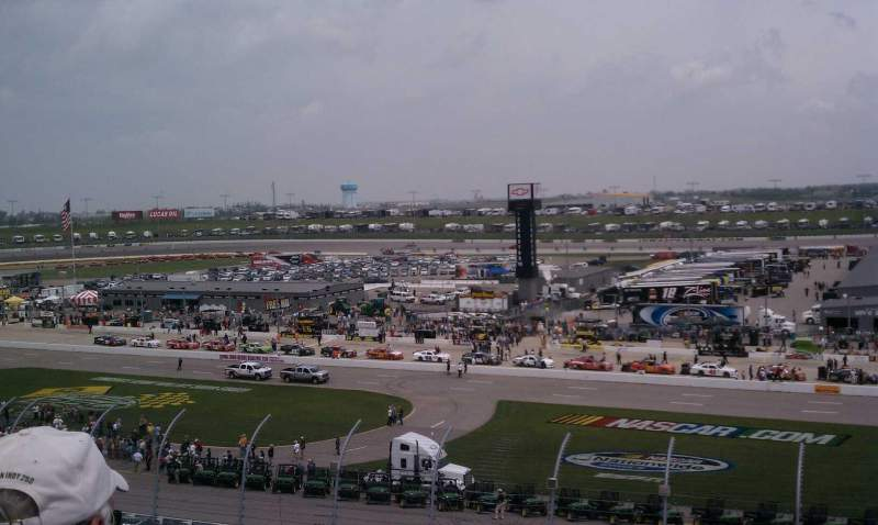 Seating view for Iowa Speedway Section 210 Row 12 Seat 8