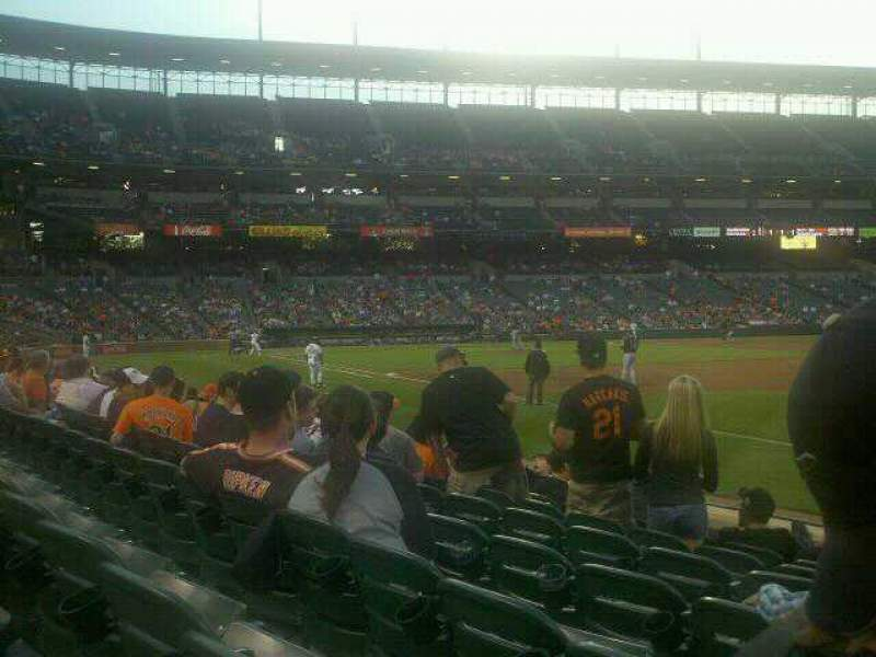 Seating view for Oriole Park at Camden Yards Section 12 Row 7 Seat 3