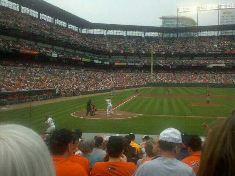 Seating view for Oriole Park at Camden Yards Section 26 Row 12 Seat 6