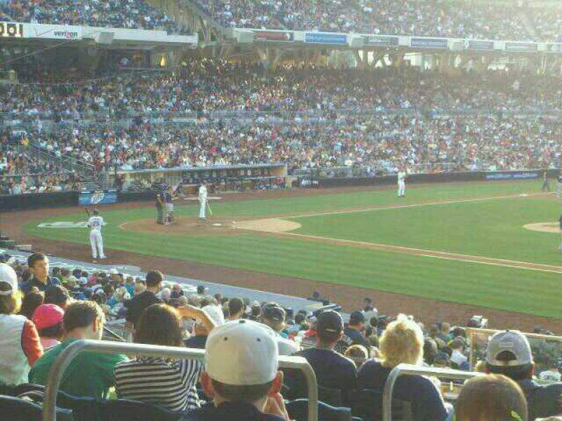Seating view for PETCO Park Section 113 Row 35 Seat 4