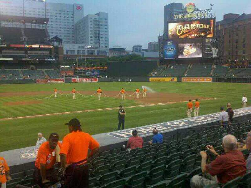 Seating view for Oriole Park at Camden Yards Section 28 Row 13 Seat 2