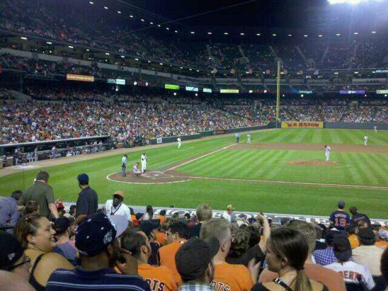 Seating view for Oriole Park at Camden Yards Section 24 Row 19 Seat 7