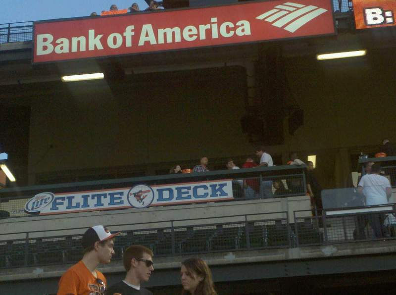 Seating view for Oriole Park at Camden Yards Section 12 Row 20 Seat 4