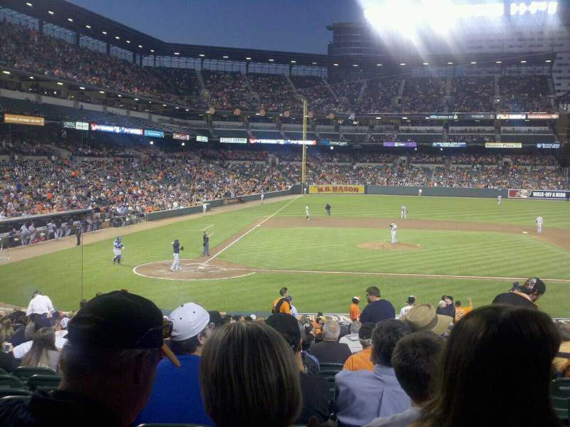 Seating view for Oriole Park at Camden Yards Section 26 Row 24 Seat 3
