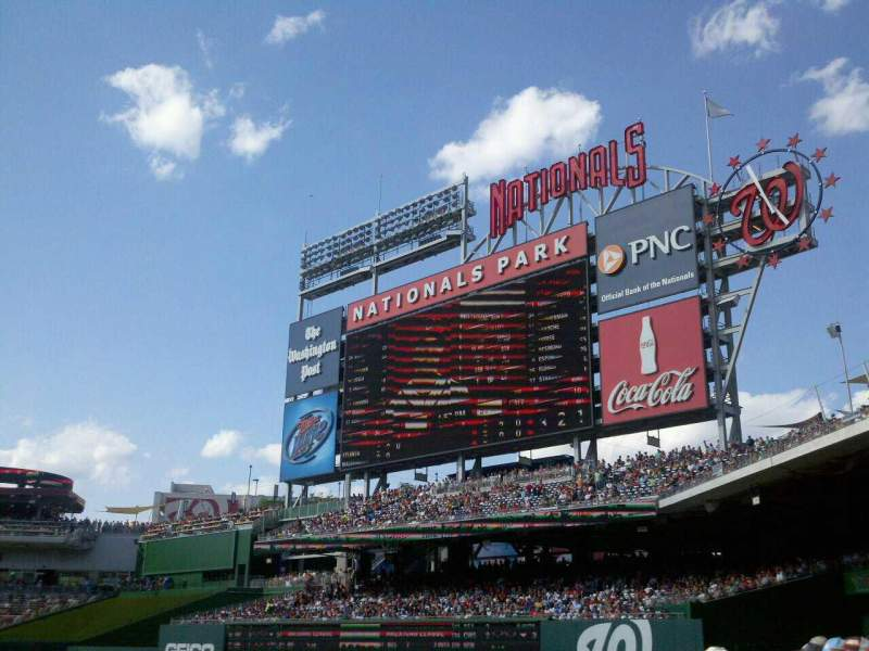 Seating view for Nationals Park Section 135 Row L Seat 6