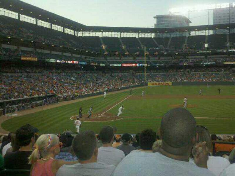 Seating view for Oriole Park at Camden Yards Section 26 Row 21 Seat 2