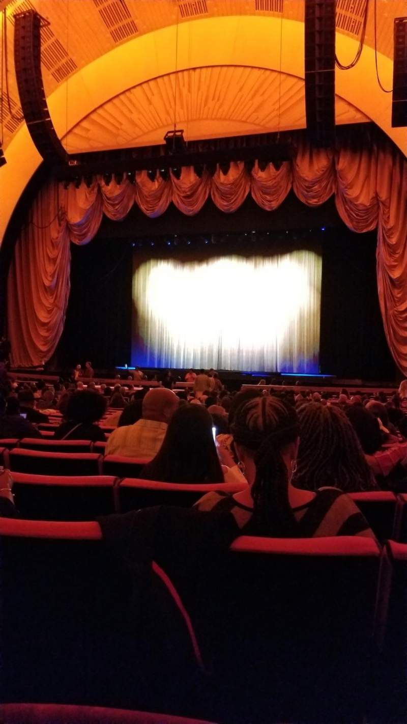 Seating view for Radio City Music Hall Section Orchestra 3 Row B Seat 302