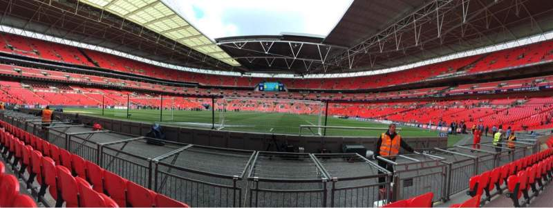 Seating view for Wembley Stadium Section 132 Row 4 Seat 286