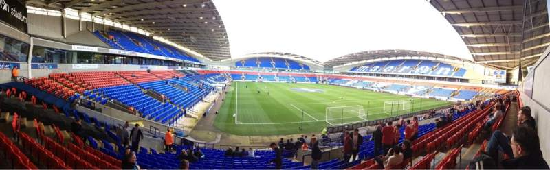 Seating view for Macron Stadium Section South Stand Lower Row Z Seat 41