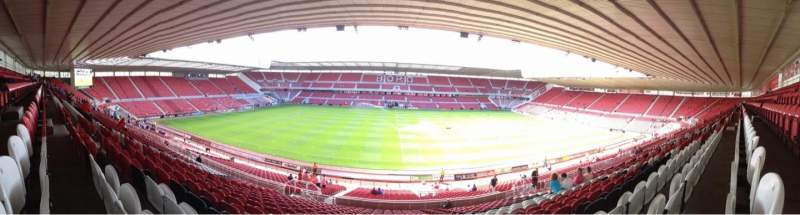 Seating view for Riverside Stadium Section 41 Row 30 Seat 133