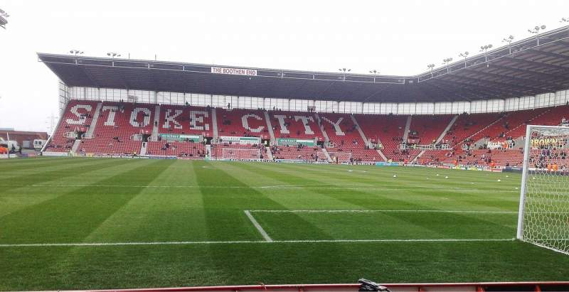 Seating view for bet365 Stadium Section 38 Row 3 Seat 942