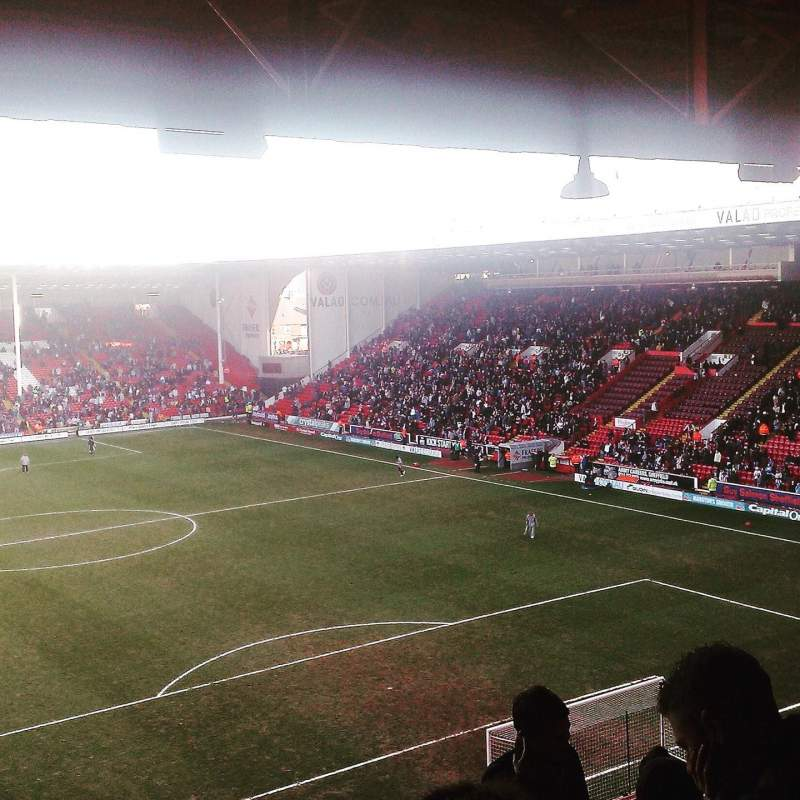 Seating view for Bramall Lane Section B Row T Seat 0042