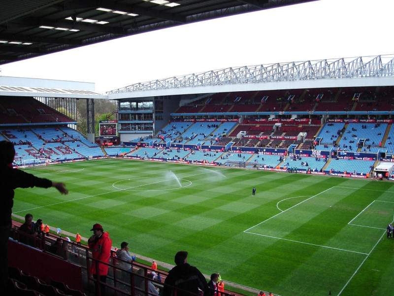Seating view for Villa Park Section P10 Row MM Seat 18