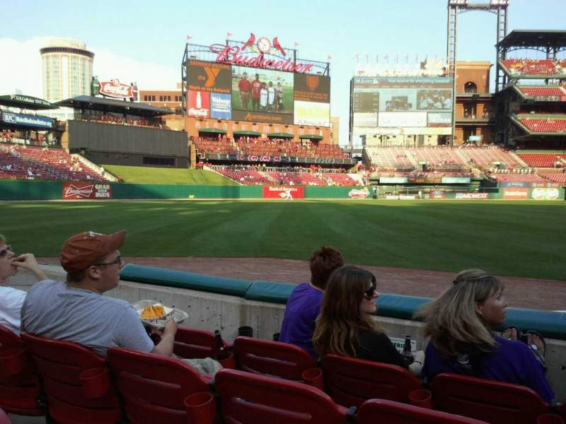 Seating view for Busch Stadium Section 166 Row C