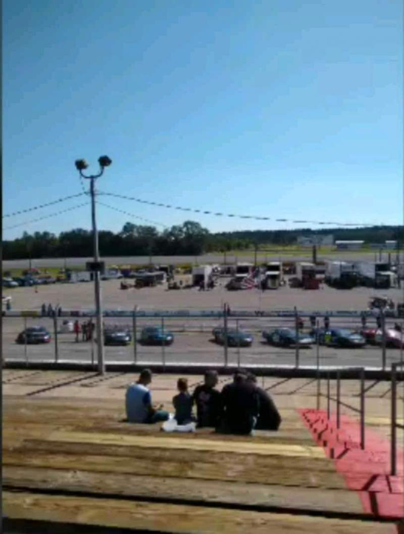 Seating view for Mobile International Speedway