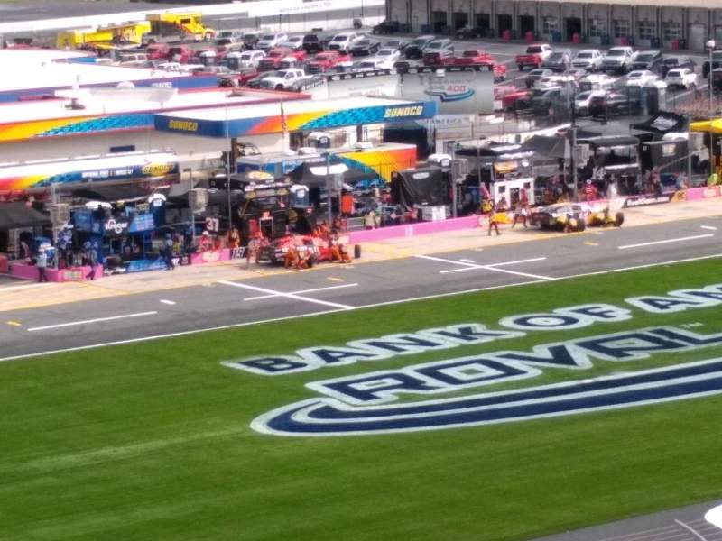 Seating view for Charlotte Motor Speedway
