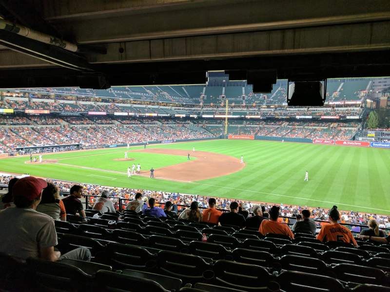 Seating view for Oriole Park at Camden Yards Section 13 Row 10 Seat 15