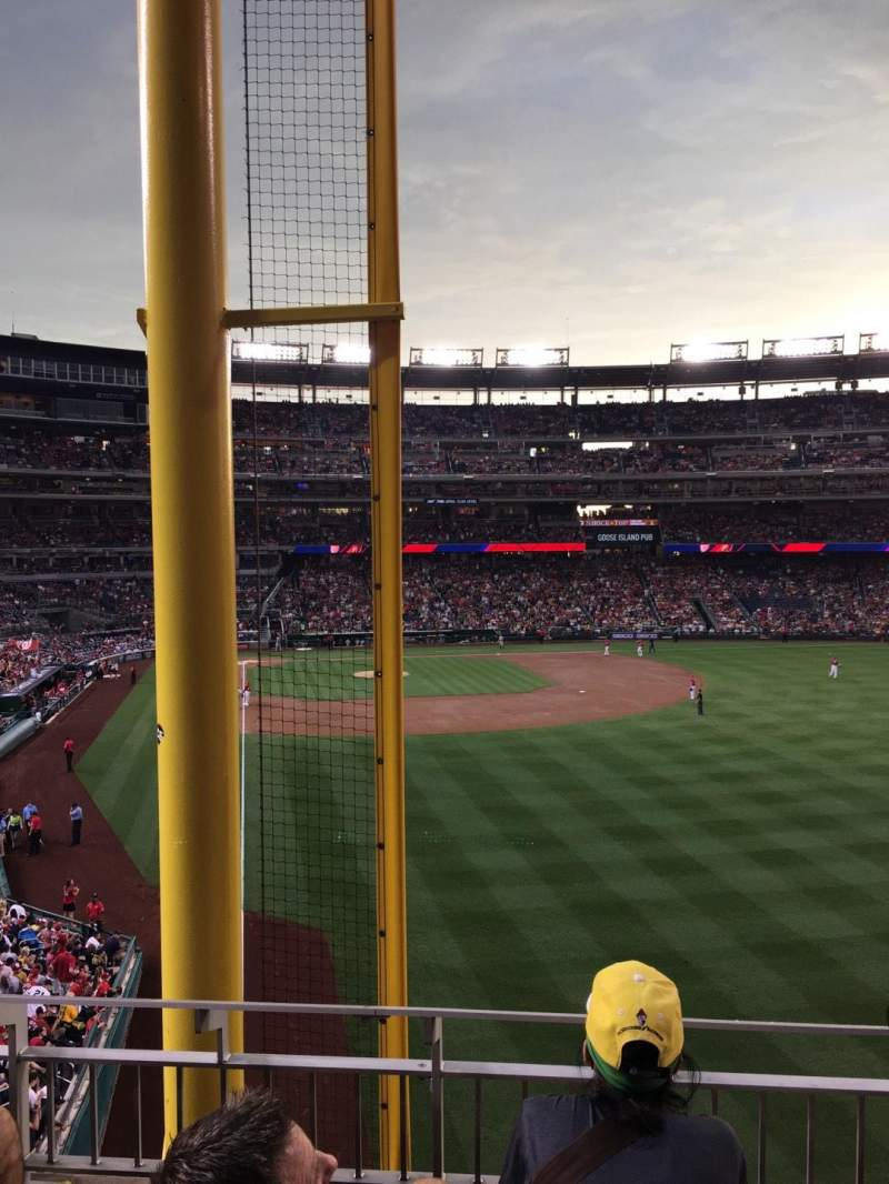 Seating view for Nationals Park Section 235 Row C Seat 4