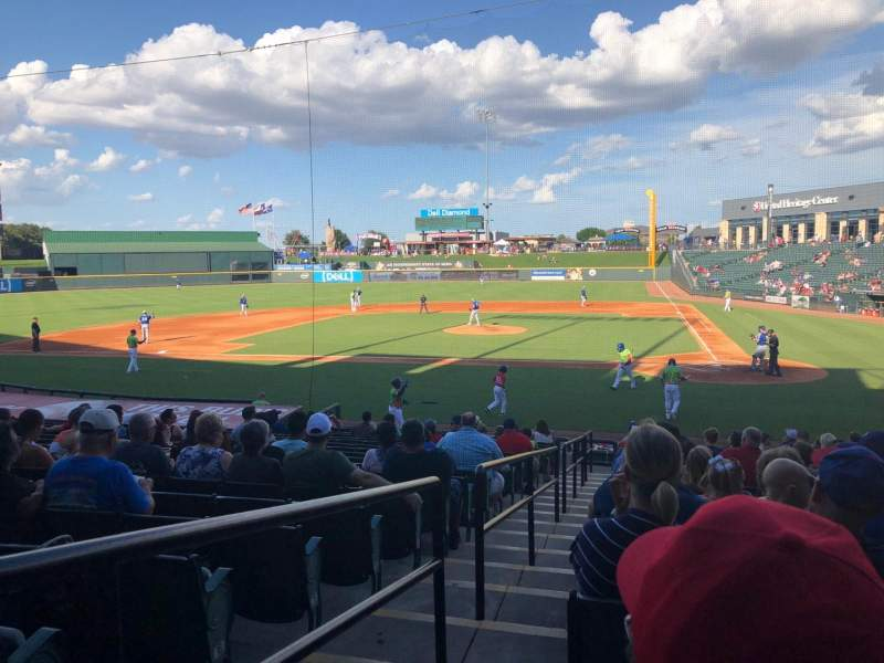Dell Diamond, section: 117, row: 19, seat: 1