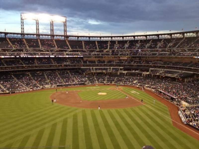 Seating view for Citi Field Section 435 Row 4