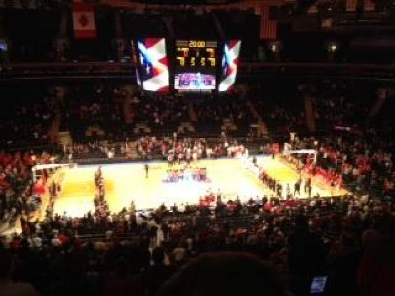 Seating view for Madison Square Garden Section 210 Row 7 Seat 17