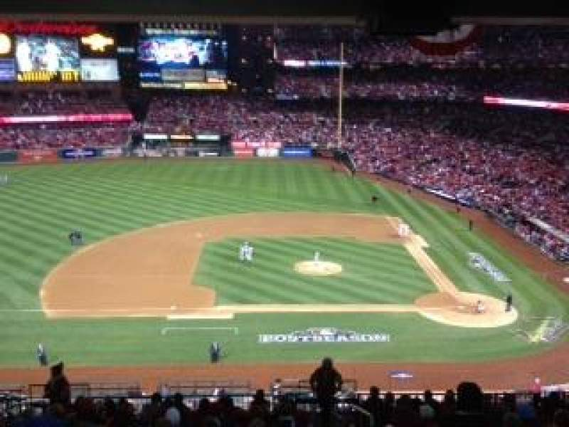Seating view for Busch Stadium Section 260 Row 2