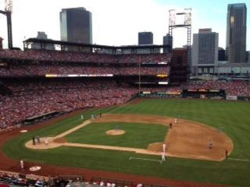 Seating view for Busch Stadium Section 241 Row 7