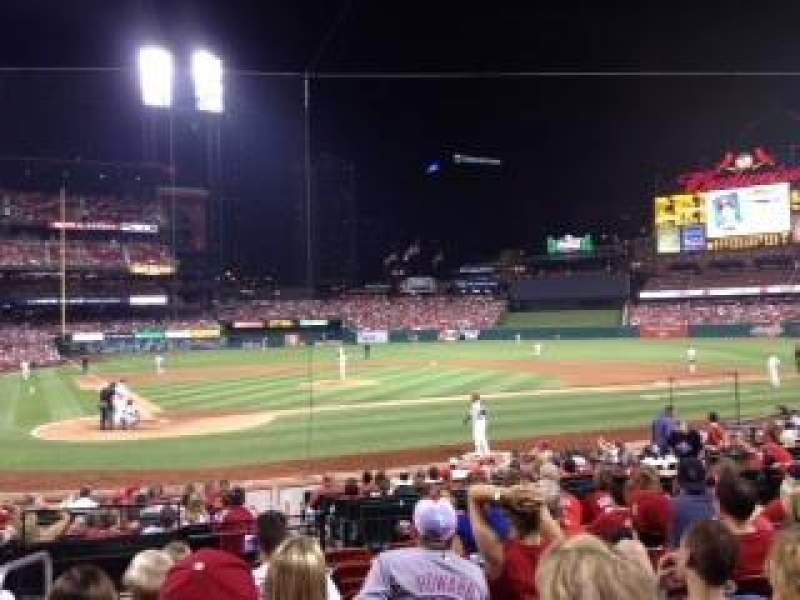 Seating view for Busch Stadium Section 148 Row 21