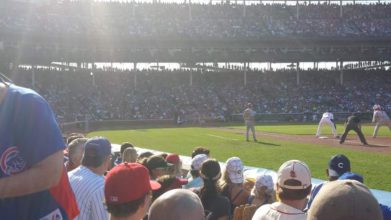 Seating view for Wrigley Field Section 28 Row 5 Seat 6