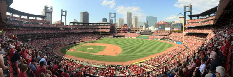 Seating view for Busch Stadium Section 241 Row 5 Seat 2