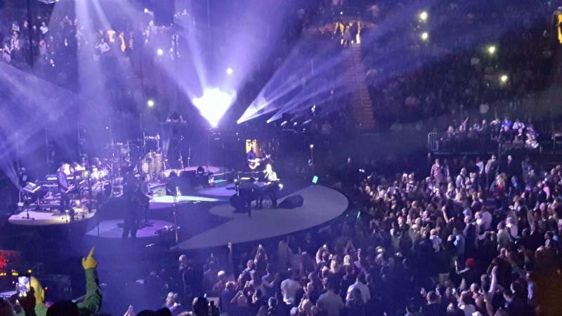 Madison square garden section 116 row 17 seat 14 billy - Billy joel madison square garden february 21 ...