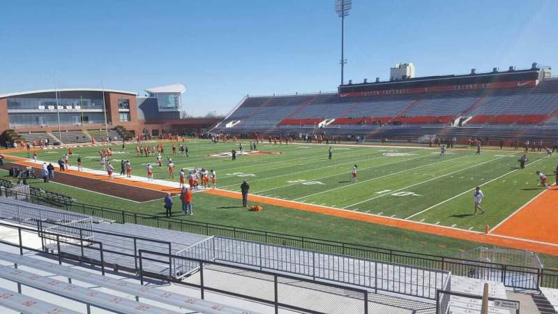 Seating view for Doyt Perry Stadium Section 7 Row 19 Seat 1