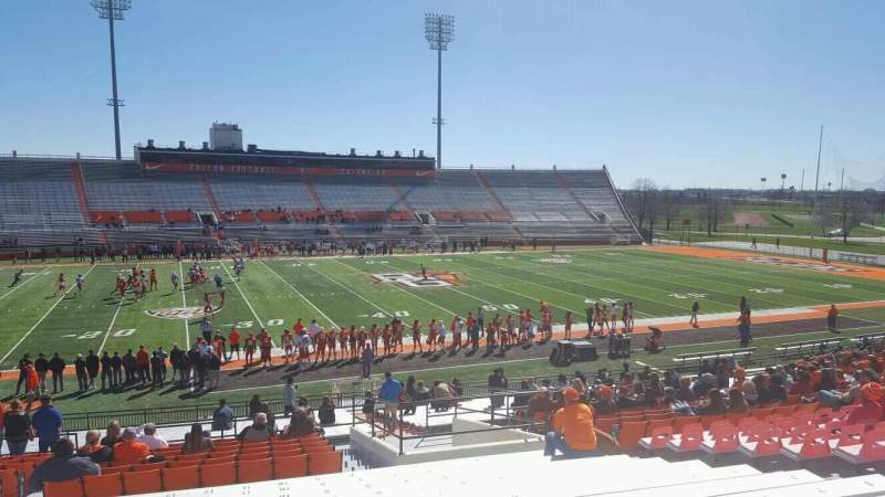 Seating view for Doyt Perry Stadium Section 17 Row 32 Seat 11