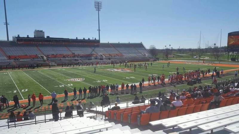 Doyt Perry Stadium, section: 19, row: 29, seat: 6