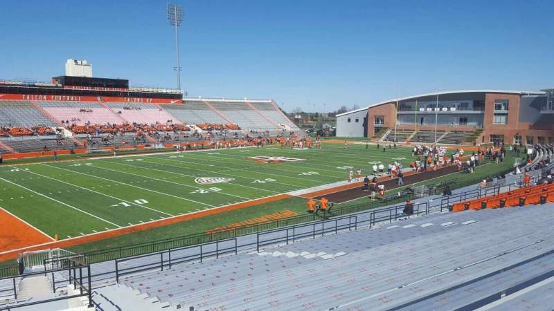 Seating view for Doyt Perry Stadium Section 8 Row 30 Seat 3