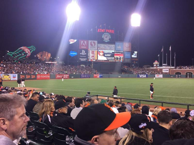 AT&T Park, section: 126, row: 11, seat: 2