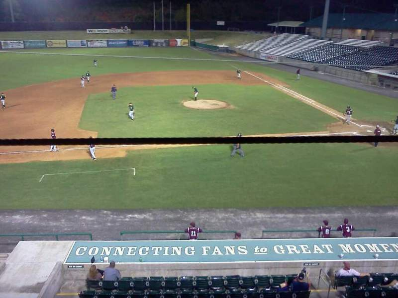 Seating view for Smokies Stadium Section 3rd Base Patio