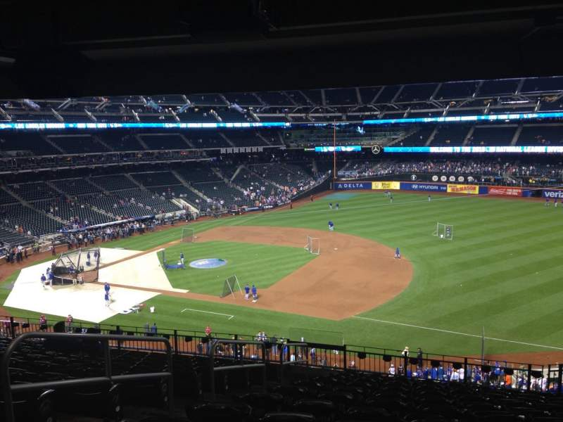 Seating view for Citi Field Section 309 Row 10 Seat 2