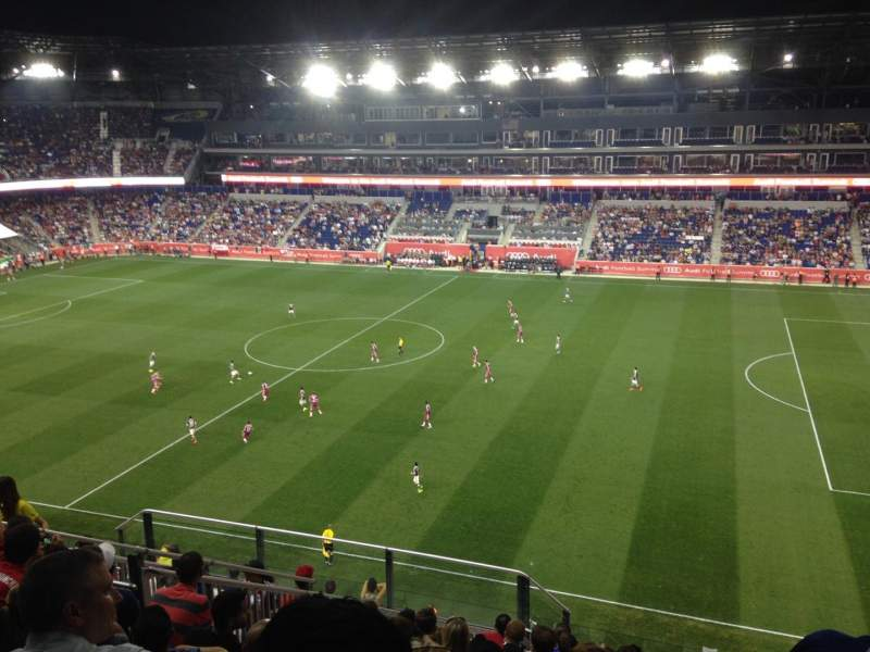 Seating view for Red Bull Arena Section 224 Row 15 Seat 26