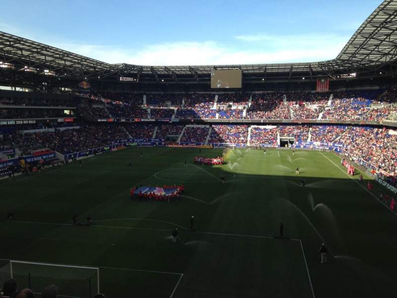 Seating view for Red Bull Arena (New Jersey) Section 233 Row 6 Seat 17