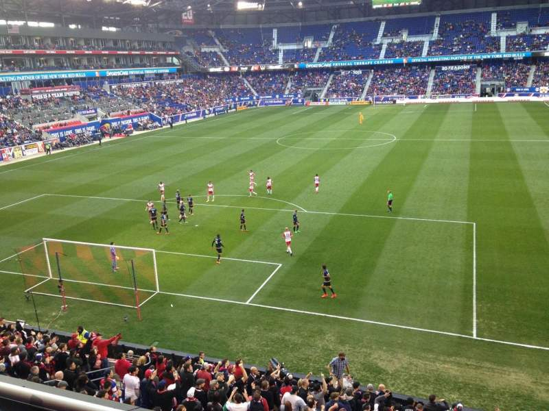 Seating view for Red Bull Arena Section 233 Row 2 Seat 14