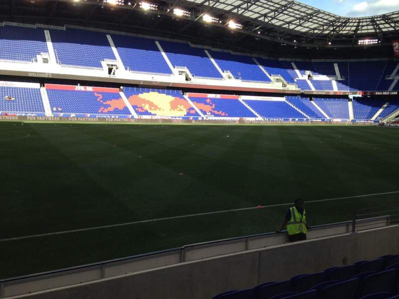 Seating view for Red Bull Arena Section 112 Row 5 Seat 10