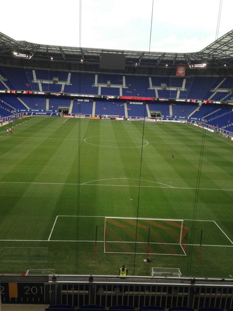 Seating view for Red Bull Arena Section 201 Row 6 Seat 21