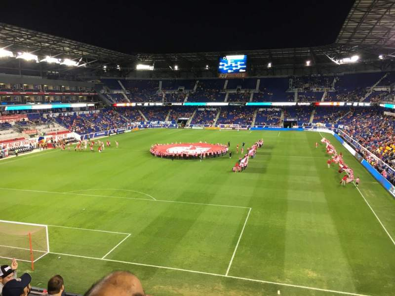 Seating view for Red Bull Arena Section 233 Row 5 Seat 1