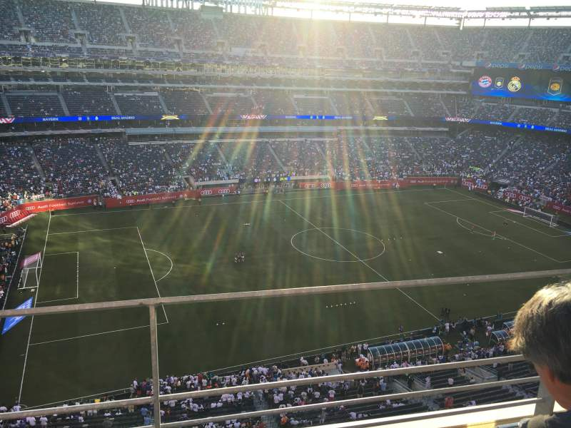 Seating view for MetLife Stadium Section 317 Row 2 Seat 3