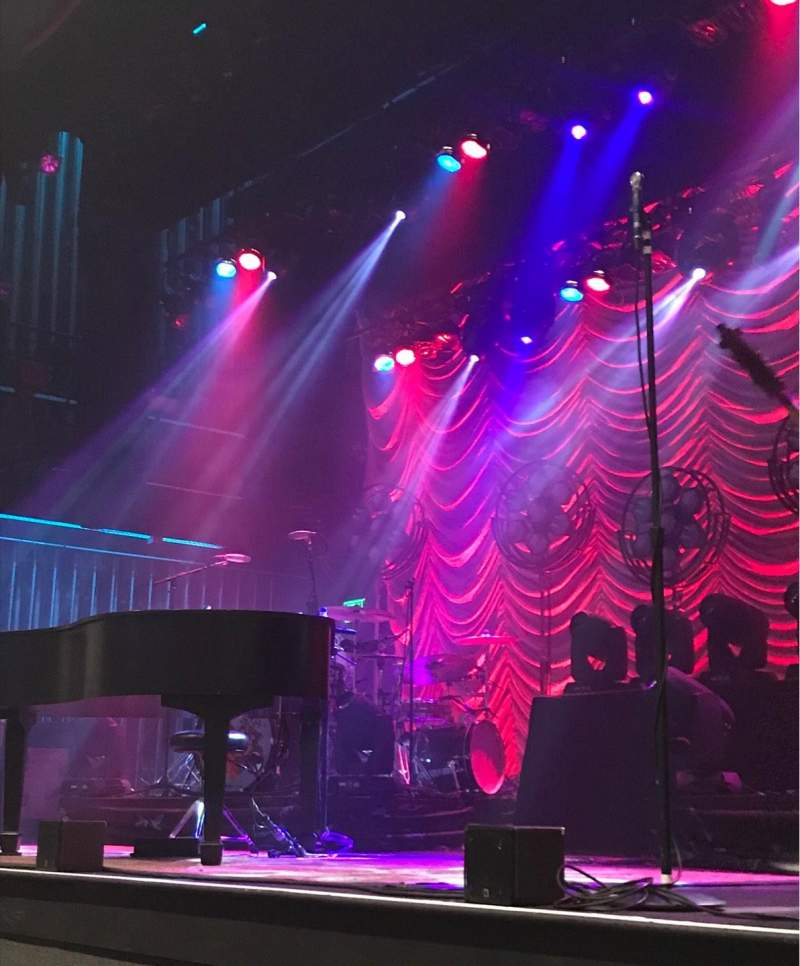 Capitol Theatre (Clearwater), section: Orchestra right, row: C, seat: 4