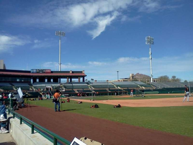 Seating view for Scottsdale Stadium Section 122